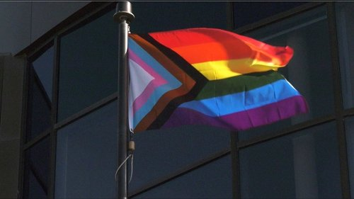City hall flag raising kicks off Lethbridge Pride Week