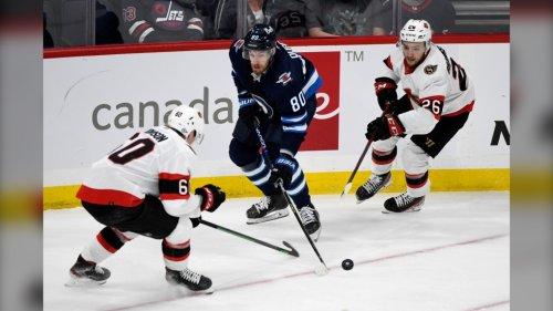 Sens down Jets 3-2 in NHL pre-season