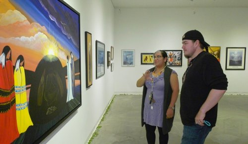 New North Bay art gallery exhibit highlights Indigenous people's resilience