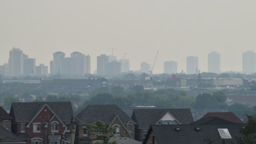 High levels of wildfire smoke in Toronto see special air quality statement issued