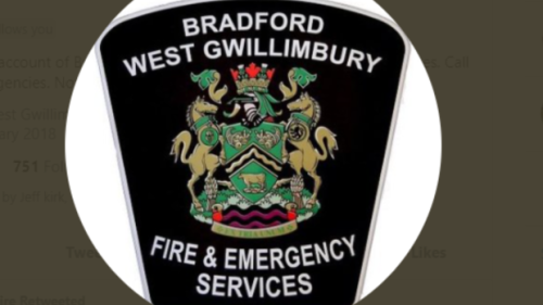 Vehicle fire closes part of highway 400 southbound in Bradford