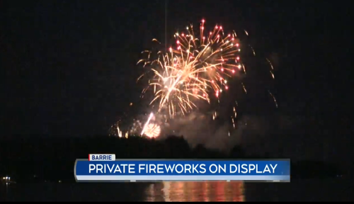 New fireworks restrictions expected in Barrie