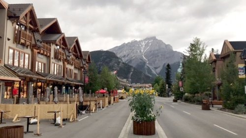 'It's critical': Town of Banff reopens to visitors after pandemic forces tourists to stay away