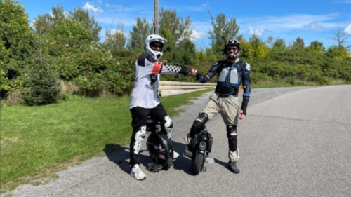 Electric Unicycles picking up speed in popularity, but technically not allowed on Ottawa roads and pathways
