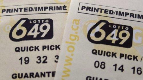 No winning ticket for Saturday's $17.8 million Lotto 649 jackpot