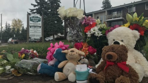 Community of Hinton, Alta., mourns loss of mother and her 16-month-old