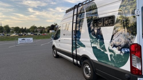Concordia students trick out a van and create a product with a waiting list to order
