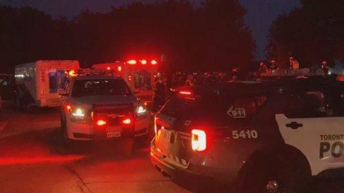 Man taken to hospital after stabbing at Ashbridges Bay Park