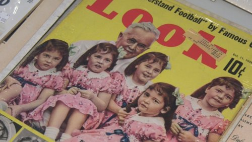 American couple donates large Dionne Quintuplets collection to Callander museum