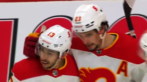 Monahan looks to rebound from injury-riddled season as Flames open up camp