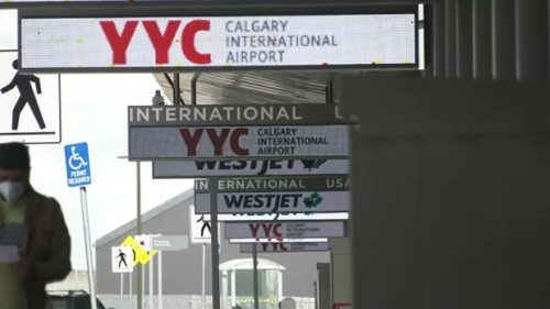 Calgary airport not enforcing quarantine rules for arriving international travelers