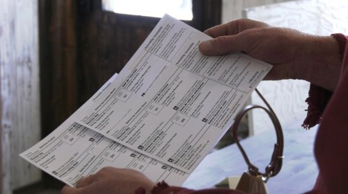 Voter information card mix up in rural Alberta