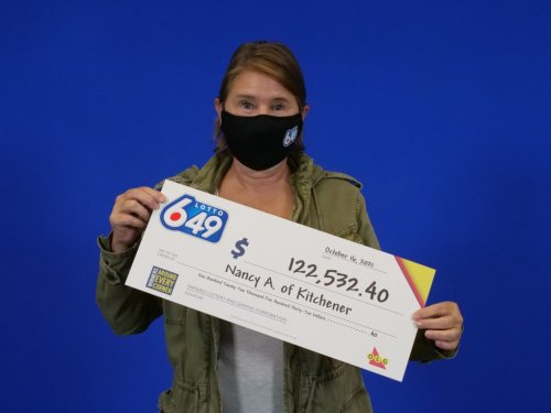 'I was in disbelief': Lottery win for Kitchener woman