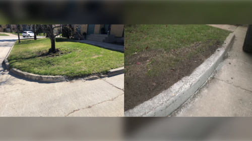 28 years later, Winnipeg man finally gets his front curb fixed