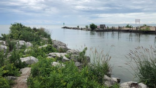 Three people rescued from Lake Erie near Kingsville, Friday