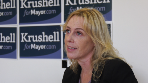 'Part of my transparency': Krushell releases campaign donor list