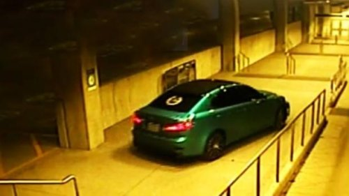 Police search for driver whose car went through pedestrian tunnel at Ajax GO Station
