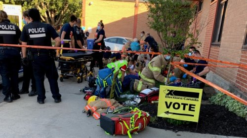 No charges after 9 people, including a child, were hit by a car outside a Montreal polling station