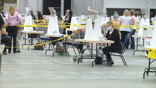 'Fast and swift': Voting made easy at Canada's largest polling station in Regina