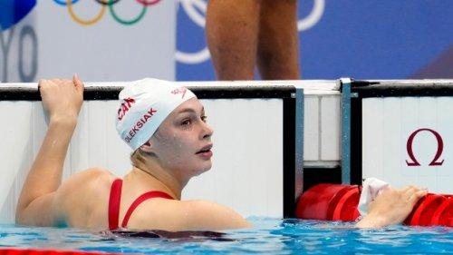 Penny Oleksiak wins bronze in 200-metre freestyle