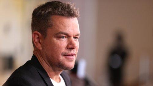 Matt Damon credits his daughter for ending his use of homophobic slur