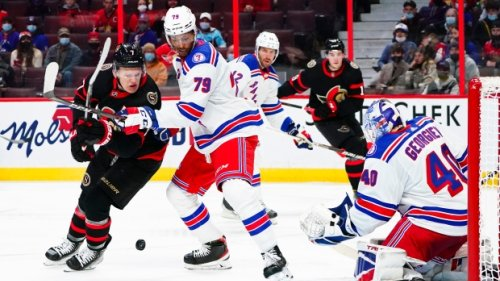 New York Rangers score three times in third period for 3-2 win over Senators