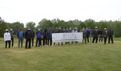 Golf Marathon aims to raise funds to improve children's health in the north