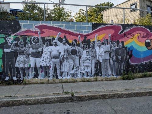 Man arrested for allegedly vandalizing Black Lives Matter mural