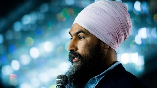 Singh says NDP would form coalition with the Liberals to stop Tories