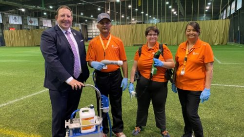 'Highest level standard in cleaning': REAL achieves cleaning accreditation
