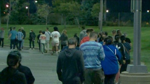 Some Toronto-area voters wait hours after polls close amid massive lineups at voting locations