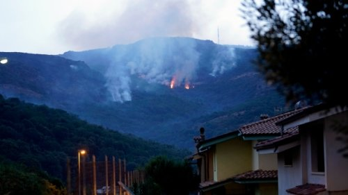 Fires ravage Italian island of Sardinia, forcing evacuations