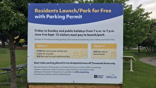 Waterfront communities implement expensive vistior parking restrictions