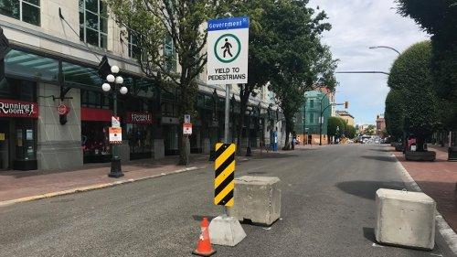 Victoria reintroducing downtown pedestrian zone this summer
