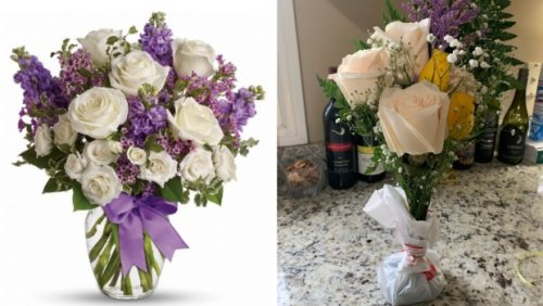 People angry flower arrangements for Mother's Day didn't match online
