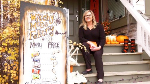'Make it bigger every year': Halloween a happy time for some Calgarians