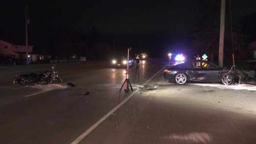One person suffers critical injuries in Springwater collision