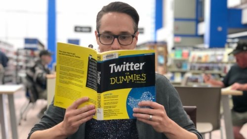 'Ride or die for the library': Meet the man behind the Regina Public Library Twitter account