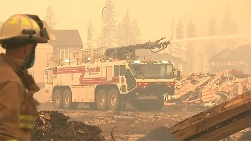 Fort McMurray firefighters who battled 2016 wildfire twice as likely to develop asthma: study
