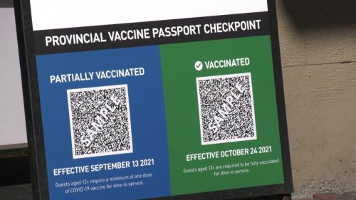 Constitutional challenge of vaccine card filed by 2 B.C. women