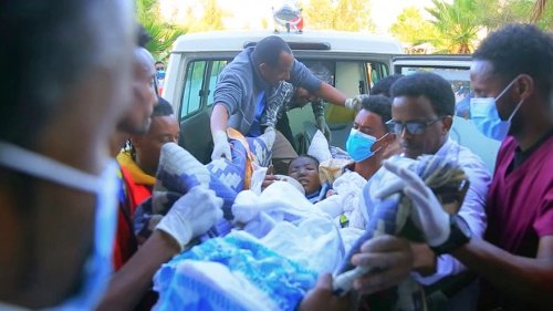 Ethiopian military says only combatants hit in Tigray air strike
