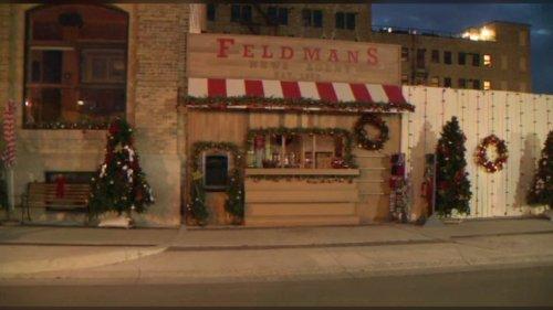 Hallmark movie set takes over Winnipeg's Exchange District