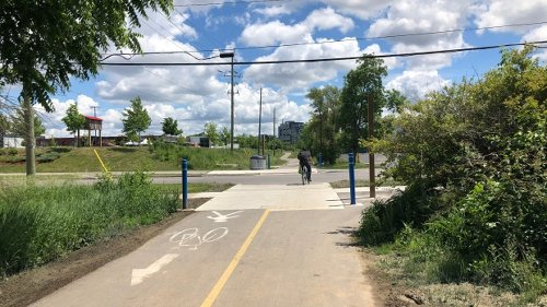 Kitchener approves safety improvements, crosswalks along Iron Horse Trail