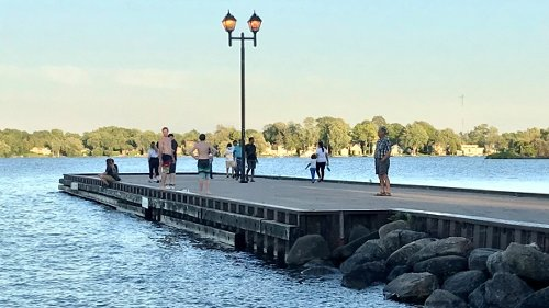 Orillia Man in Hospital after Couchiching Beach Park rescue