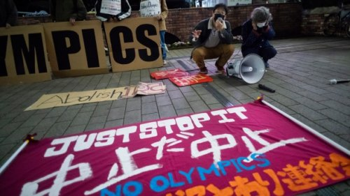 Poll shows 60 per cent of Japanese want Olympic Games cancelled