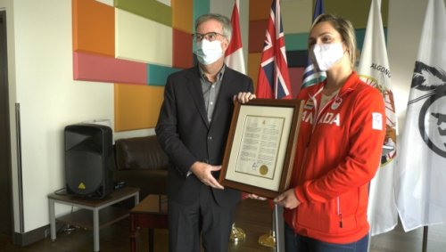 'Gaby Dabrowski Day': Ottawa tennis champ served up honour from the city