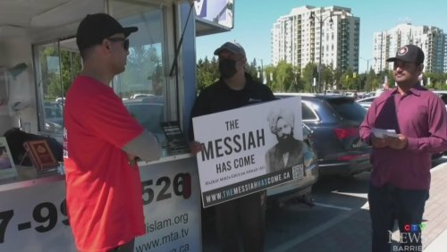 Travelling exhibit which aims to end Islamophobia stops in Barrie
