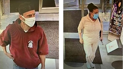 Man and woman sought in Chatham-Kent theft investigation