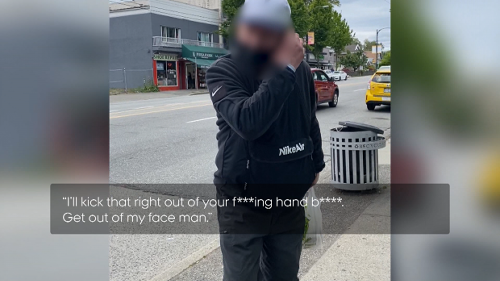 Muslim woman speaks out about being harassed at Vancouver bus stop