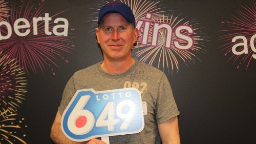'I'm set up financially': Edmonton man wins $1M lotto